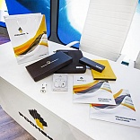 Printing and gift materials for Rosneft